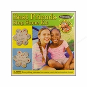"Milestones <br />Best Friend Stepping Stone Kit (8"")"