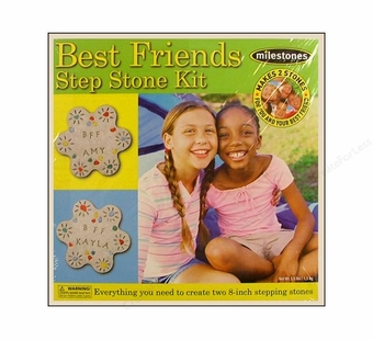 Milestones <br />Best Friend Stepping Stone Kit (8