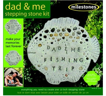 Milestones <br />Dad & Me Stepping Stone Kit