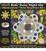 "Milestones <br />Daisy Night Glo Solar Stone Kit (12"")"