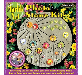 Milestones <br />Family Photo Stone Kit (12