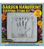 Milestones <br />Garden Handprint Stepping Stone Kit