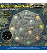 "Milestones <br />Glow in the Dark Stone Kit (12"")"