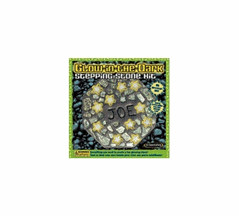 Milestones <br />Kids Glow in the Dark Stepping Stone Kit (8