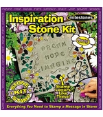 "Milestones <br />Kids Inspiration Stepping Stone Kit (11"")"