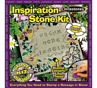 Milestones <br />Kids Inspiration Stepping Stone Kit (11