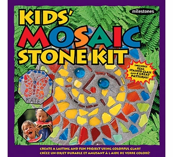 Milestones <br />Kids Mosaic Stepping Stone Kit