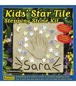 Milestones <br />Kids Star Tile Stepping Stone Kit