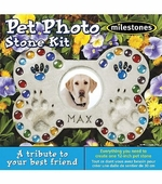 Milestones <br />Pet Photo Stepping Stone Kit