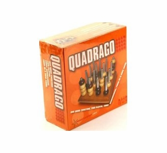 Mindtwister <br />Quadrago Strategy Wood Game