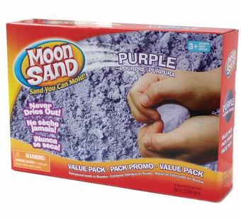 Moon Sand <br />Purple Planet Shape it Sand 5 lb.