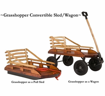 Mountain Boy Sledworks <br />Grasshopper Wagon/Sled