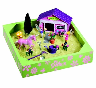 My Little Sandbox Fairy Garden Playset