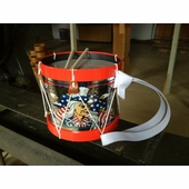 Noble & Cooley <br />Collectible Patriotic Drum