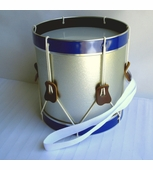 Noble & Cooley <br />Silver Marching Field Drum #400