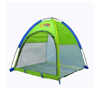 Pacific Play Tents <br />Green Deluxe Baby Nursery Tent