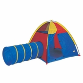 Pacific Play Tents <br />Hide Me Play Tent & Tunnel Combo Neon