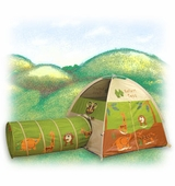 Pacific Play Tents <br />Jungle Safari Tent & Tunnel Combo
