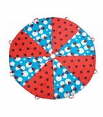 Pacific Play Tents <br />Ladybug 8 Foot Parachute