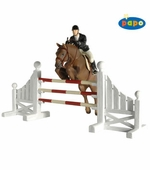 Papo <br />Competition Jump Set Figurine #50090