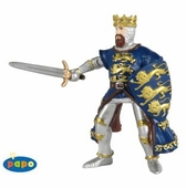 Papo <br />King Richard Blue Figurine #39329