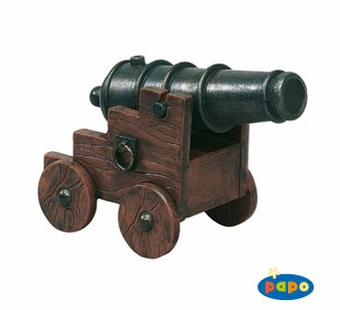 Papo <br />Pirate with Cannon Figurine #39439