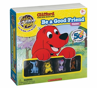 Patch Toys <br />Clifford Be A Good Friend Game