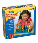 Patch Toys <br />Large Tall Stacker Pegs & Pegboard Set