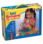 Patch Toys <br />Stringing Pegs And Pegboard Set