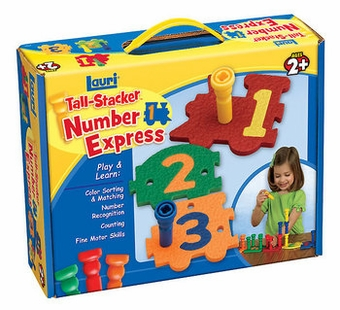 Patch Toys <br />Tall Stacker Number Express
