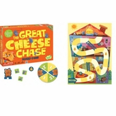 Peaceable Kingdom <br />Great Cheese Chase Game