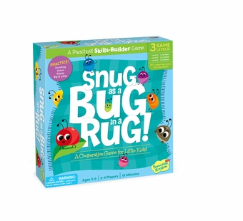 Peaceable Kingdom <br />Snug as a Bug Rug Game