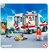 Playmobil <br />Ambulance #4221