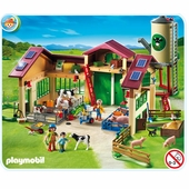 Playmobil <br />Barn With Silo #5119