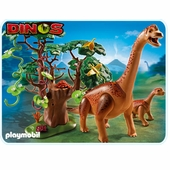 Playmobil <br />Brachiosaurus with Baby #5231