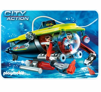 Playmobil <br />Deep Sea Submarine #4909