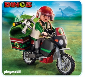 Playmobil <br />Explorer with Motorcyle #5237