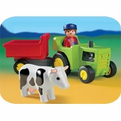 Playmobil <br />Farmer with Tractor #6715