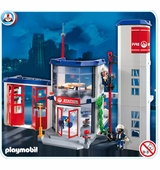 Playmobil <br />Fire Station #4819