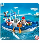 Playmobil <br />Fisherman with Boat #5131