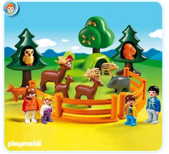 Playmobil <br />Forest Animal Park #6772
