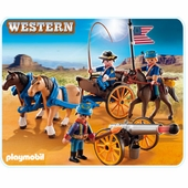 Playmobil <br />Horse Carriage with Calvary #5249