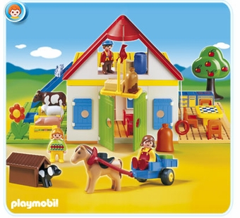 Playmobil <br />Large Farm #6750