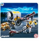 Playmobil <br />Lion Knight Treasure Transport #4874