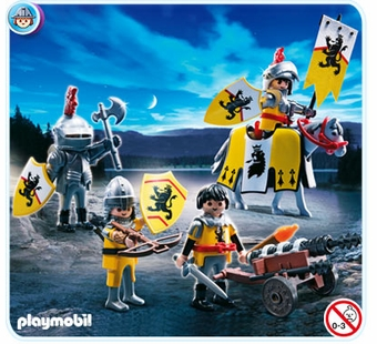 Playmobil <br />Lion Knight Troops #4871
