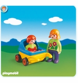 Playmobil <br />Mother with Baby and Stroller #6749