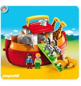 Playmobil <br />My Take Along 1.2.3 Noah's Ark #6765