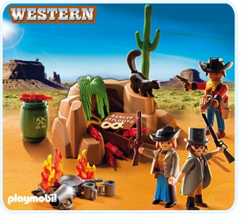 Playmobil <br />Outlaw Hide Out #5250
