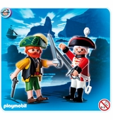 Playmobil <br />Pirate and Redcoat Soldier #4127