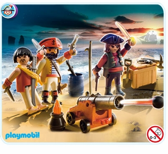 Playmobil <br />Pirates Commander with Armory #5136